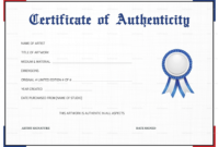 010 Artist Certificatefit8252C1275Ssl1 Certificate Of with Photography Certificate Of Authenticity Template