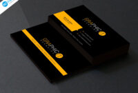 010 Blank Business Card Template Photoshop Free Download throughout Name Card Template Photoshop