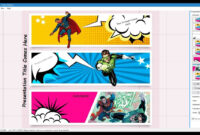 010 Comic Book Powerpoint Template Ideas Singular Free Style pertaining to Comic Powerpoint Template
