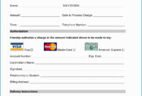 010 Free Credit Card Authorization Form Template Word Luxury With Credit Card Authorisation Form Template Australia