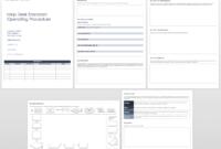 010 Ic Help Desk Sop Template Word Standard Operating for Free Standard Operating Procedure Template Word 2010