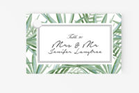 010 Template For Place Cards Ideas Flat Card pertaining to Free Template For Place Cards 6 Per Sheet