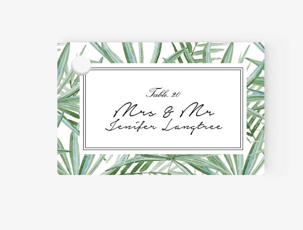 010 Template For Place Cards Ideas Flat Card Pertaining To Place Card Template 6 Per Sheet
