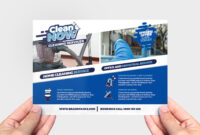 010 Template Ideas Cleaning Service Flyer Remarkable Design pertaining to Commercial Cleaning Brochure Templates