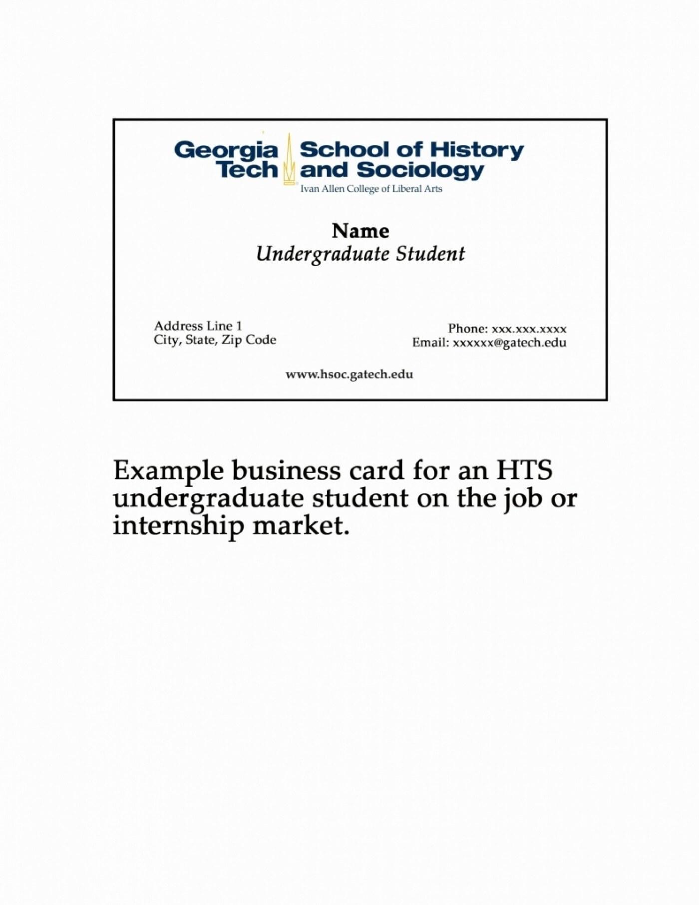 010 Template Ideas Graduate Student Business Card Example Within Graduate Student Business Cards Template