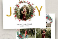 010 Template Ideas Photoshop Christmas Card Templates regarding Free Photoshop Christmas Card Templates For Photographers