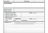 011 20Employee20Nt Report Form Pdf Hse Template Format For throughout Health And Safety Incident Report Form Template
