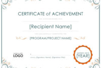 011 Army Certificate Of Achievement Template Microsoft Word intended for Certificate Of Achievement Army Template