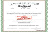 011 Duke6 Detail Llc Member Certificate Template Staggering inside Llc Membership Certificate Template