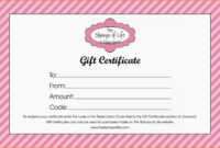 011 Free Certificates Printing For Nail Salon Gift Samples With Nail Gift Certificate Template Free