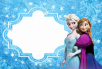 011 Frozen Birthday Invites Template Excellent Ideas Invite pertaining to Frozen Birthday Card Template