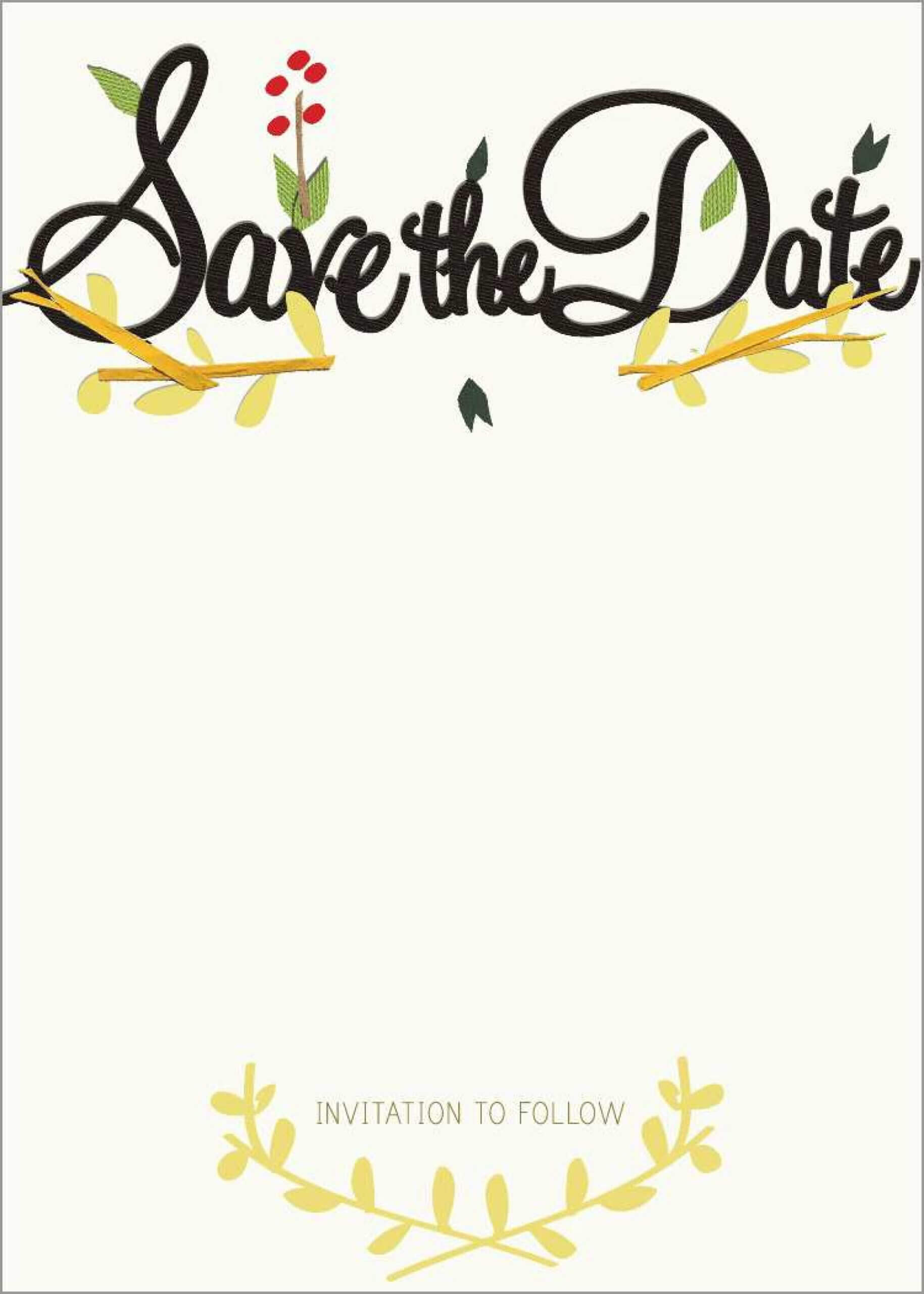 011 Save The Date Templates Word Free Template Ideas Party Regarding Save The Date Template Word