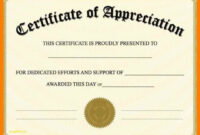 011 Template Ideas Certificate Of Appreciation Word Doc within Certificate Of Appreciation Template Doc