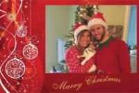 011 Template Ideas Photoshop Christmas Cards Formidable for Free Christmas Card Templates For Photographers