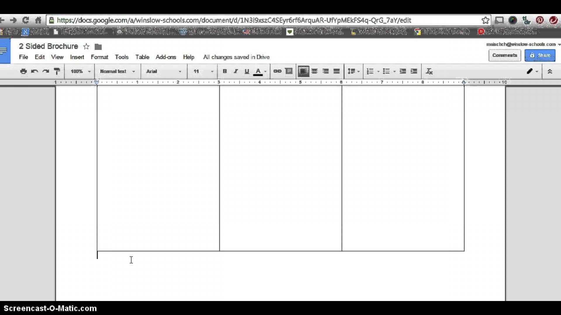 012 Blank Tri Fold Brochure Template Google Docs Slides Top Regarding 6 Sided Brochure Template