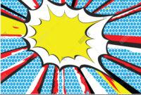 012 Comic Book Powerpoint Template Singular Ideas Style inside Comic Powerpoint Template