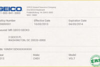 012 Company Car Policy Template Free Auto Insurance Id Card pertaining to Car Insurance Card Template Download