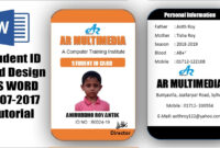 012 Free Id Badge Templates Maxresdefault Template Ideas in Sample Of Id Card Template