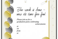012 Graduation Invitation Templates Template Ideas Party for Free Graduation Invitation Templates For Word