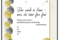 012 Graduation Invitation Templates Template Ideas Party with Graduation Party Invitation Templates Free Word