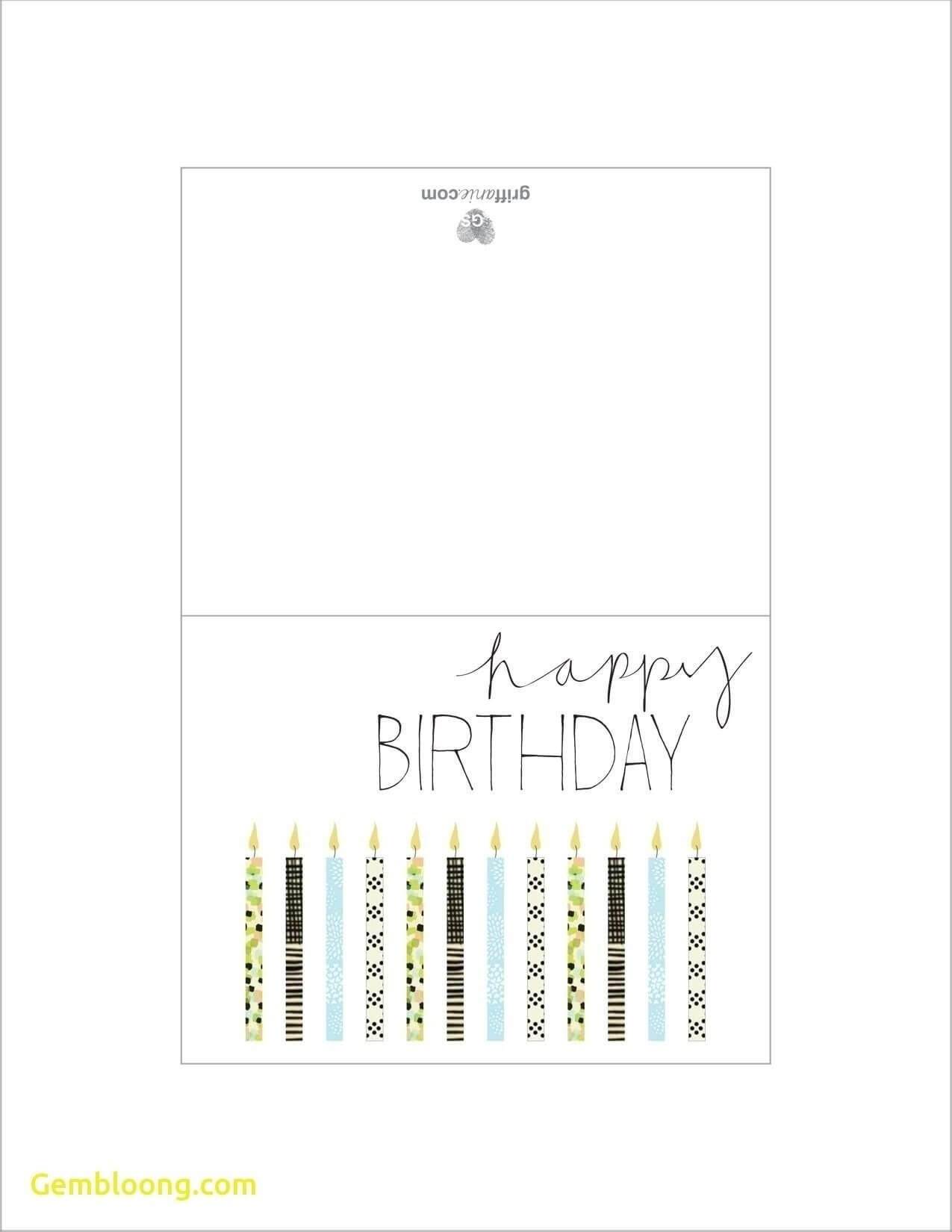 012 Printable Birthday Card Template Ideas Cards Foldable With Foldable Birthday Card Template