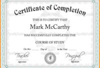 012 Template Ideas Army Certificate Of Achievement Microsoft within Army Certificate Of Completion Template