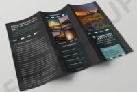 012 Tri Fold Brochure Template Download Frightening Ideas intended for Free Brochure Template Downloads