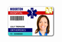 013 Id Badge Template Free Online Ideas Printable Cards throughout Hospital Id Card Template