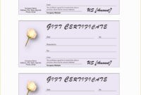 013 Salon Gift Certificate Template Amazing Ideas Free Hair in Massage Gift Certificate Template Free Printable