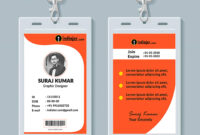 013 Student Id Card Design Template Psd Free Download with Template For Id Card Free Download