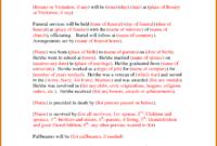 013 Template Ideas Free Printable Obituary Templates Regarding Fill In The Blank Obituary Template