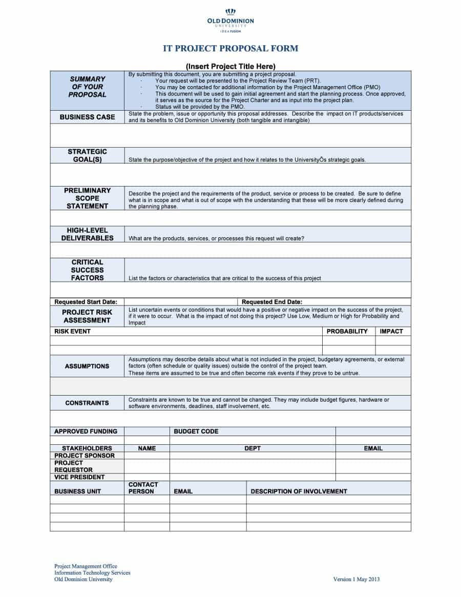 014 Business Proposal Template Free Project Ideas Microsoft Pertaining To Software Project Proposal Template Word