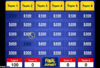 014 Jeopardy Powerpoint Template With Score Ideas Excellent for Jeopardy Powerpoint Template With Sound