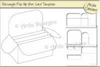 014 Rectangle Pop Up Box Card Cu Templatearda Designs inside Pop Up Card Box Template