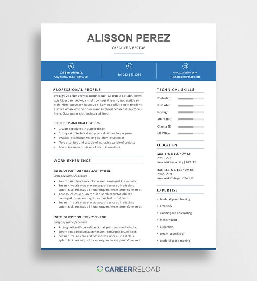 014 Template Ideas Microsoft Word Resume Templates Free Pertaining To Microsoft Word Resumes Templates