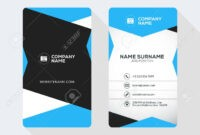 015 Double Sided Business Card Template Illustrator Best Of throughout 2 Sided Business Card Template Word