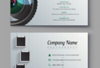 015 Photography Business Card Templates Preview Template intended for Advertising Card Template