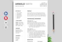 015 Professional Resume Templates Word Free Download intended for Free Downloadable Resume Templates For Word