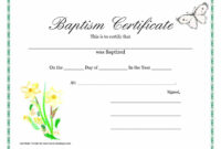015 Template Ideas Certificate Of Baptism Unique Broadman throughout Roman Catholic Baptism Certificate Template