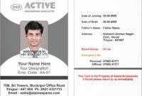 015 Template Ideas Employee Id Card Microsoft Word Free within Id Card Template For Microsoft Word