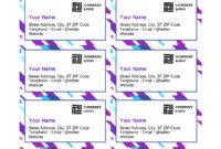 015 Template Ideas Microsoft Business Card Templates with regard to Business Card Template Word 2010