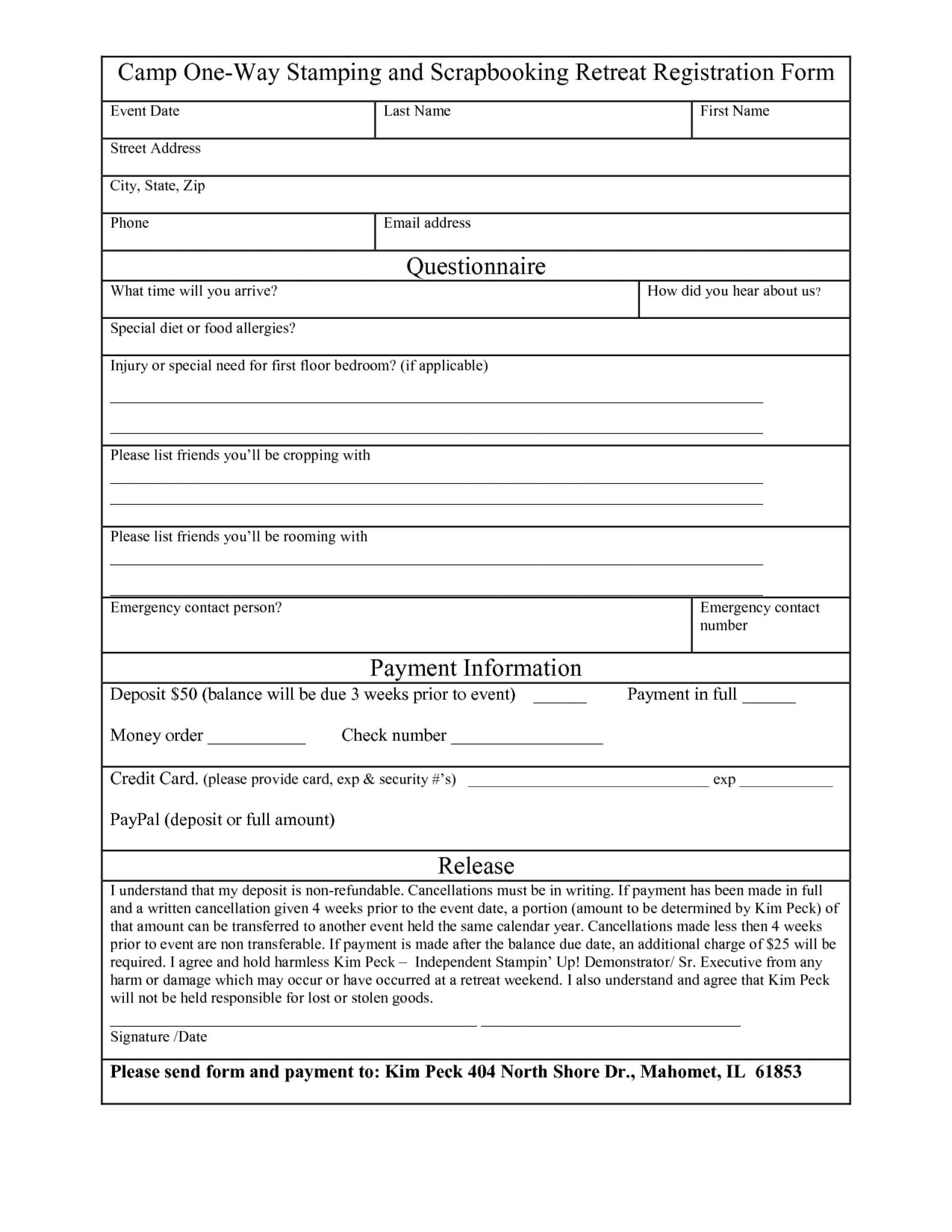 015 Template Ideas School Registration Form Word Free In Within School Registration Form Template Word