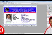 016 Employee Id Card Template Microsoft Word Free Download regarding Id Card Template For Microsoft Word