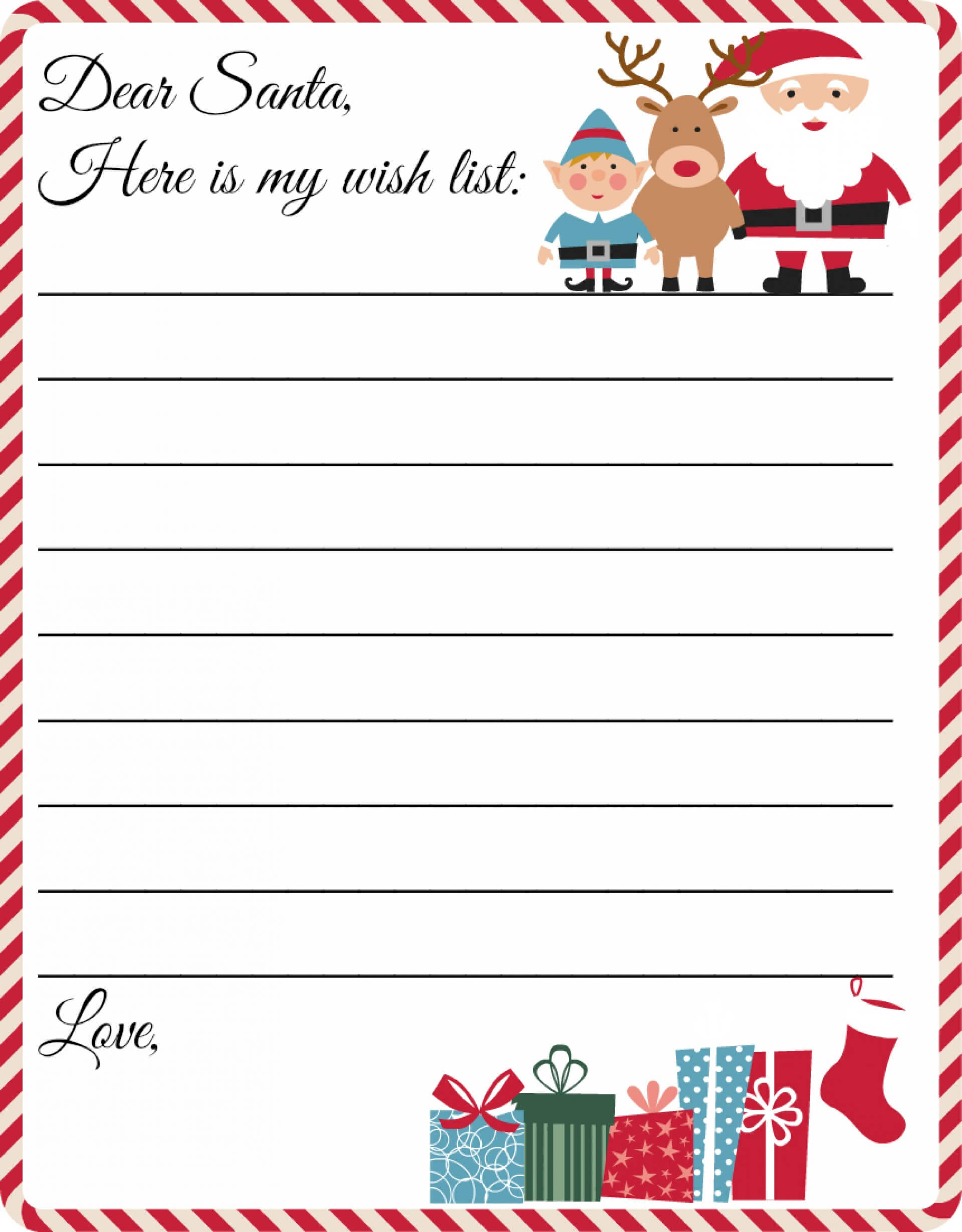 016 Ms Word Letter From Santa Template Letters Ideas To In Santa Letter Template Word