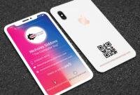 016 Template Ideas Iphone Business Unusual Card Psd Free pertaining to Iphone Business Card Template