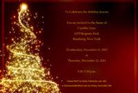 017 Australian Christmas Party Invitation Templates Free inside Free Christmas Invitation Templates For Word