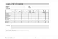 017 Daily Activity Report Template Fantastic Ideas Format with Sales Activity Report Template Excel