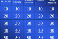 017 New S Jeopardy Powerpoint Template With Score Excellent intended for Jeopardy Powerpoint Template With Sound