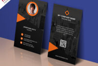 017 Personal Business Cards Template Modern Corporate Card within Free Personal Business Card Templates