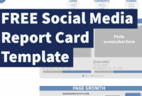 017 Social Media Report Template Ideas Top Excel Free within Free Social Media Report Template